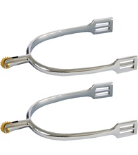 Zinc Die Cast Spurs with Rowel