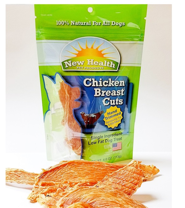 New Health Pet Products Chicken Breast Cuts 4 oz.