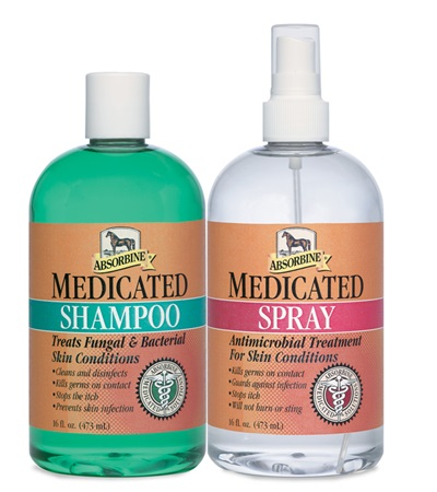 Absorbine® Medicated Twin Pack Shampoo & Spray Pints