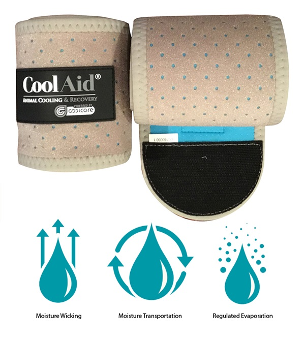 Coolaid Equine Cooling Polo Wraps