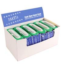 "Dakota Star™ Show Pocket Brush Green & White 5"""