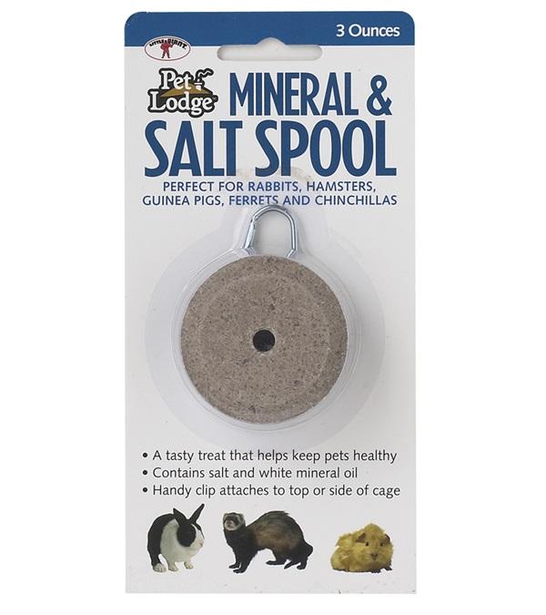Pet Lodge™ Mineral & Salt Spool with Hanger