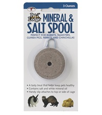 Pet Lodge™ Mineral & Salt Spool with Hanger