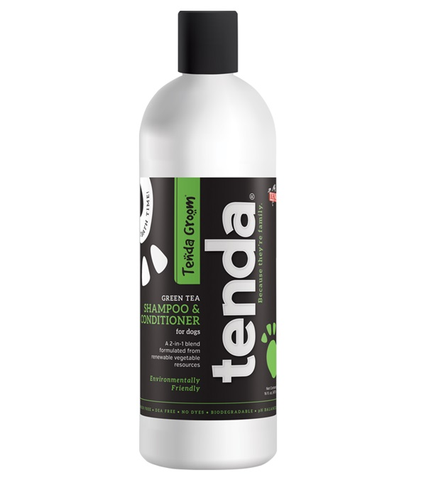 Tenda Groom® Green Tea 2-in-1 Shampoo & Conditioner 16 oz.