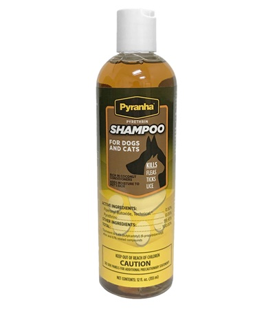 Pyranha® Pyrethrin Shampoo™ for Dogs and Cats 12 oz.
