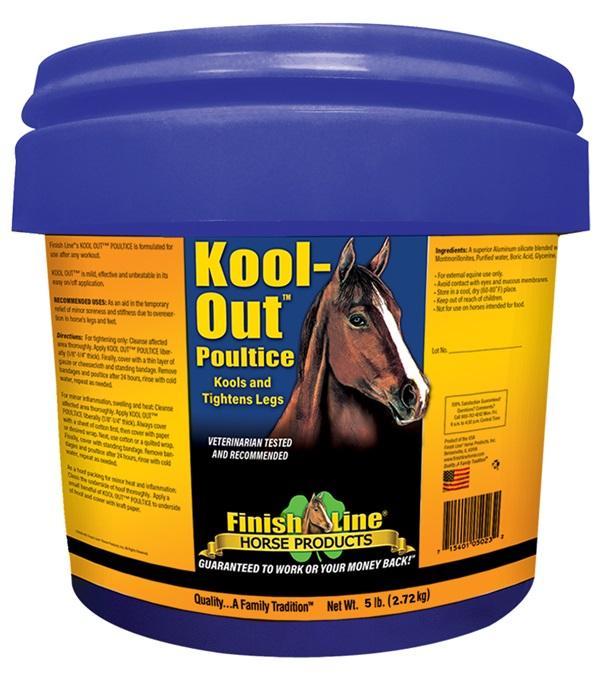 Finish Line® Kool-Out™ Poultice 5 lb.
