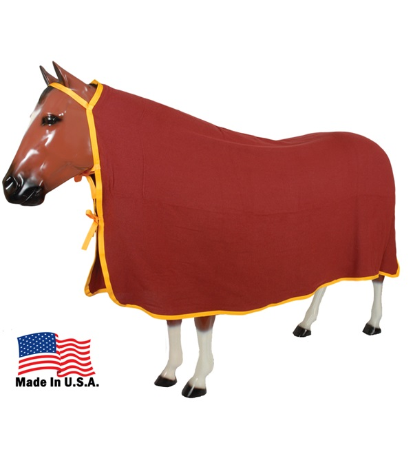 "Parkston Cooler Taped & Bound 84"" x 90"" Yukon Fleece"
