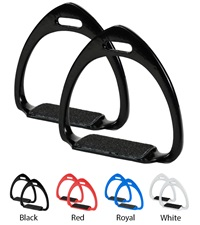 Colored Aluminum Race Stirrups 3-3/4""