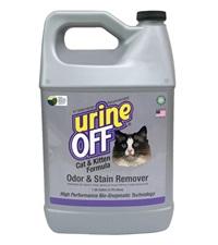 Urine Off® Cat & Kitten Formula Odor & Stain Remover Gallon