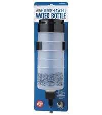 Flip-Top-Easy Fill Water Bottle 32 oz.