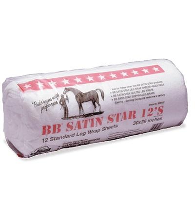 B.B. Cotton Satin Star® Leg Wraps