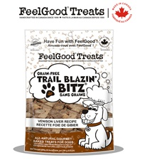 Trail Blazin' Bitz® Grain-Free Dog Treats 8.8 oz. bag