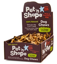 Pet 'n Shape® Chicken Feet All-Natural Dog Treats