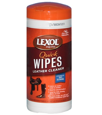 Lexol® Quick Wipes Leather Cleaner