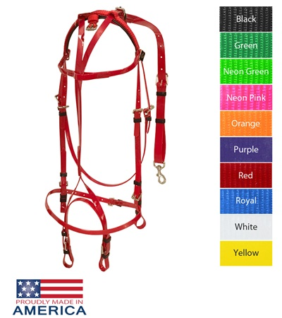 Feather-Weight® Euro Open Bridle