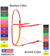 Feather-Weight® Beta Two-Tone Buxton Martingale