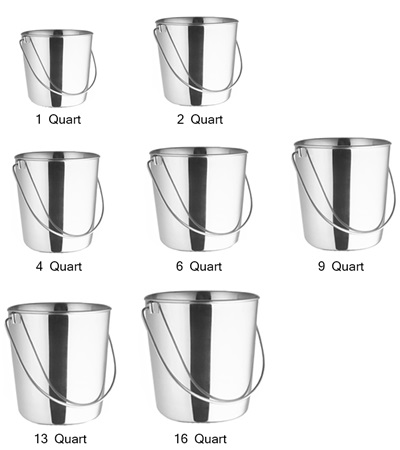 Valhoma Stainless Steel Pail