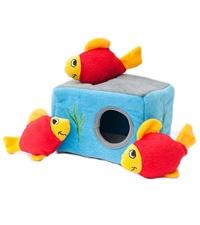 Zippy Burrow Aquarium Plush Dog Toy