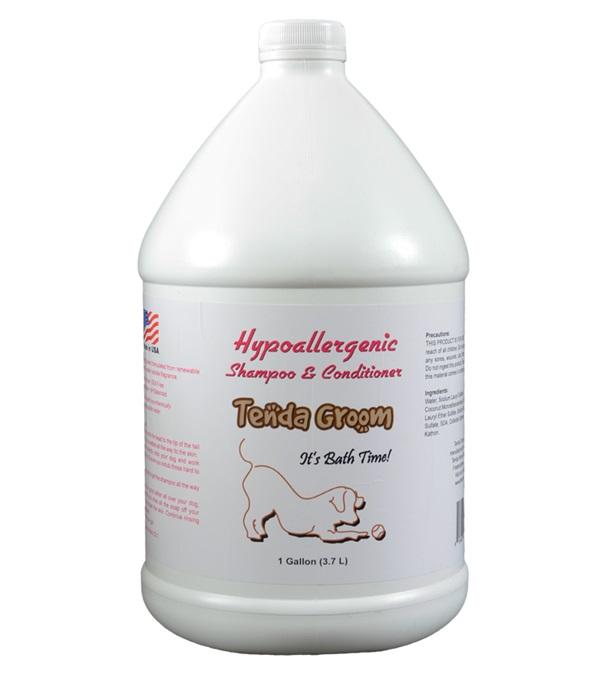 Tenda Groom® Hypoallergenic 2-in-1 Shampoo & Conditioner Gallon