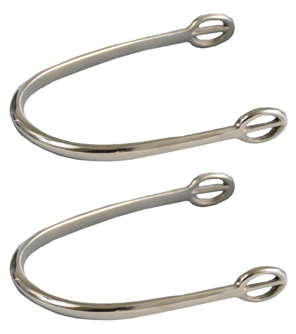 Stainless Steel Ladies Dummy Spurs