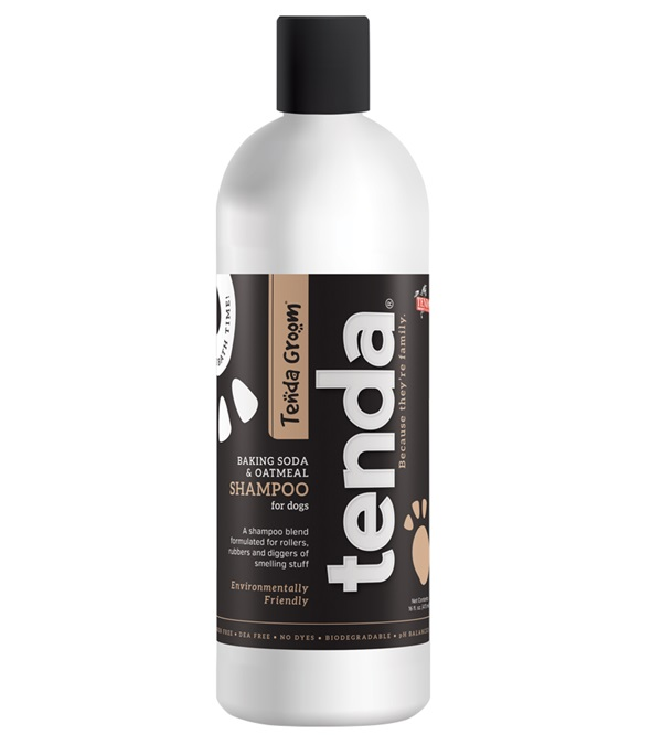 Tenda Groom® Baking Soda & Oatmeal Shampoo 16 oz.
