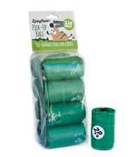 Zippy Paws Poop Bags (8 rolls per bag)