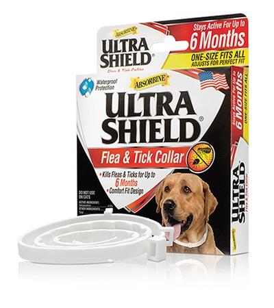 Ultrashield® Flea & Tick Collar for Dogs