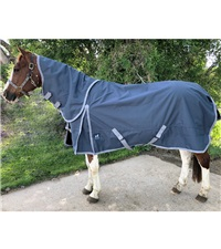Boreas Ink Blue Turnout Blanket 1200 Denier with 260gm Lining