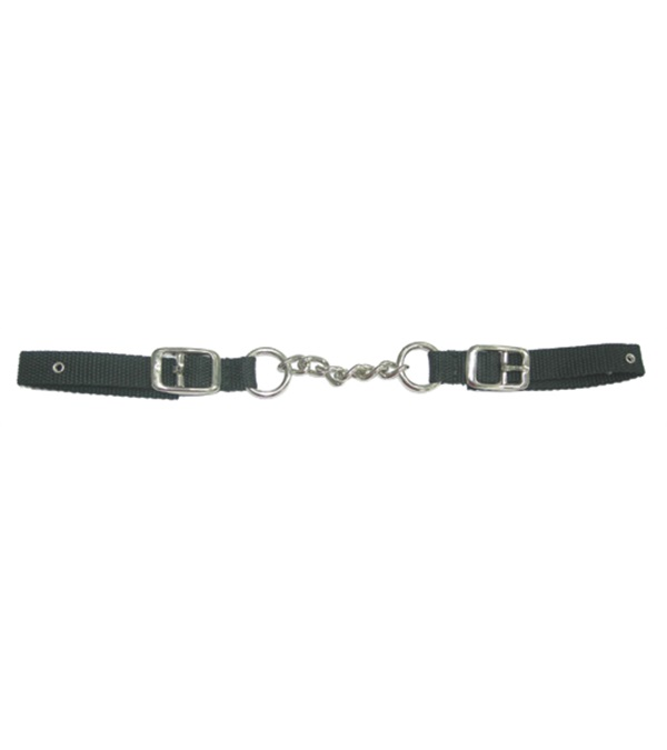 Single Chain Nylon Curb Strap
