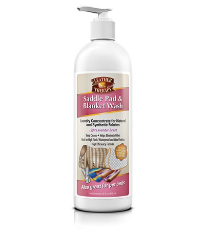 Leather Therapy® Saddle Pad & Blanket Wash 16 oz.