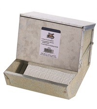 Animal Feeder with Sifter Bottom & Lid