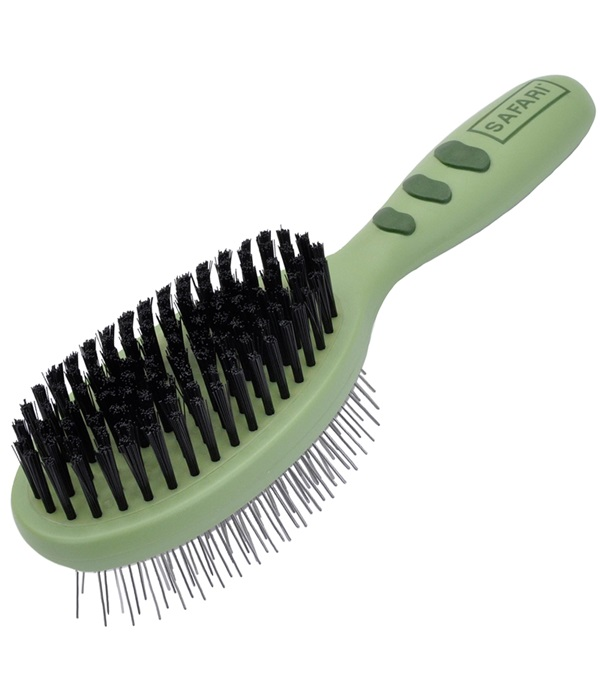Safari® Pin & Bristle Combo Brush