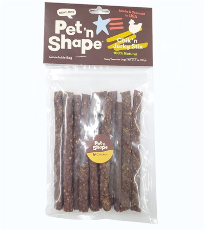 Pet 'n Shape® Chicken Jerky STIX All-Natural Dog Treats