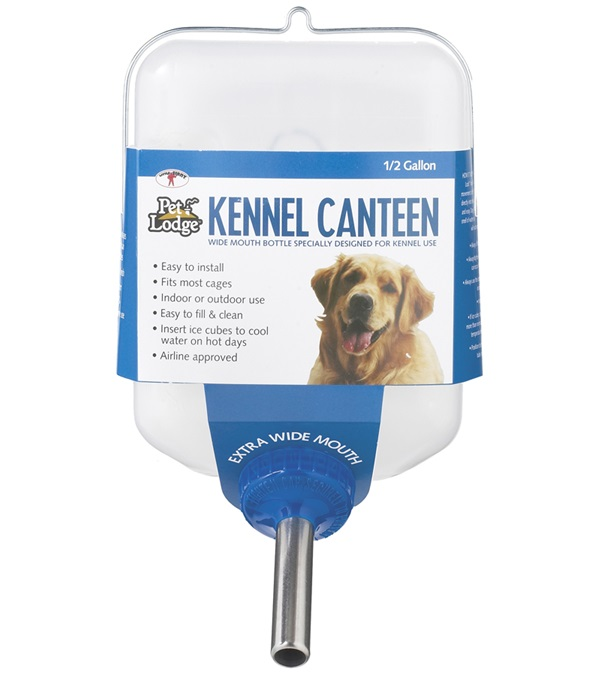 Pet Lodge Kennel Canteen 1 2 Gallon Jacks Inc