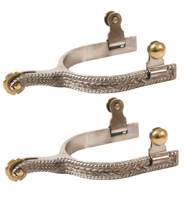 Stainless Steel Rope Design Spurs