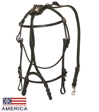 Feather-Weight® Open Bridle Leather