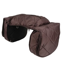 Large Quilted Cooler Saddle Bag