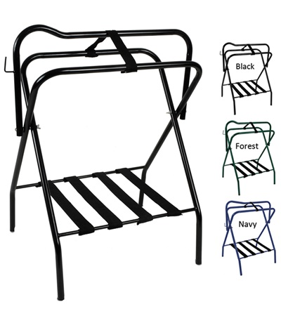 2 PACK Folding Floor Saddle Stand