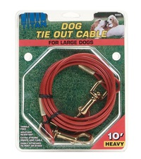 Titan® Tie Out Cable Red