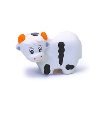 Rascals® Latex Cow 3.25""