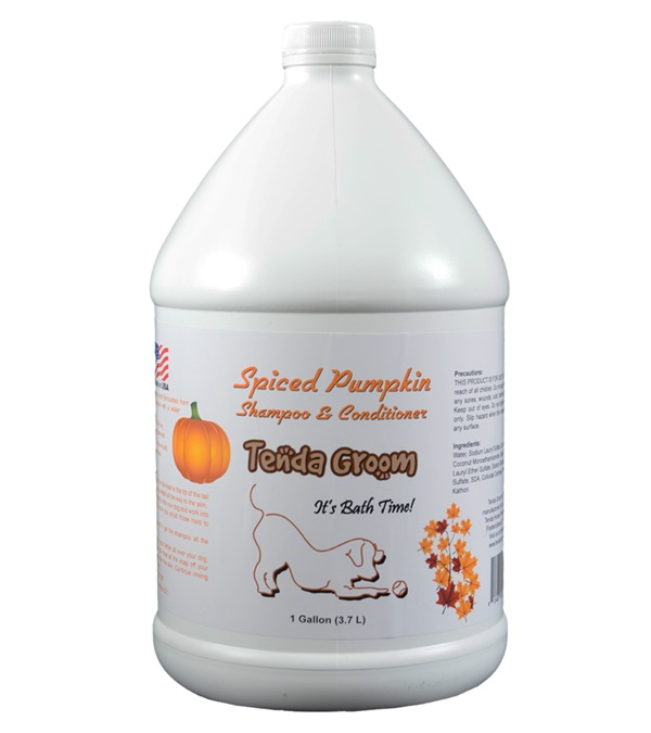 Tenda Groom® Spiced Pumpkin 2-in-1 Shampoo & Conditioner Gallon