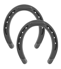 Diamond® Bronco Toed and Heeled Horseshoes