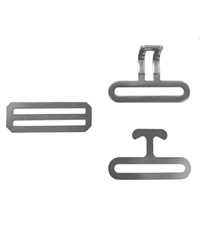 Surcingle Hardware Replacement Set Stainless Steel