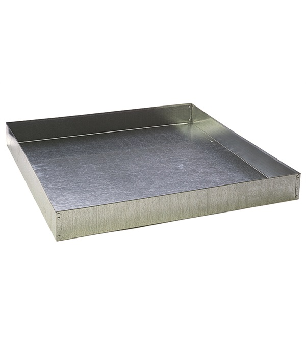 Pet Lodge™ Galvanized Dropping Pan