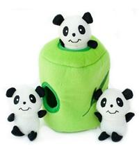 Zippy Burrow Panda 'n Bamboo Plush Dog Toy