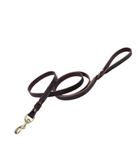 Circle T® Latigo Leather Dog Leash Flat 1""
