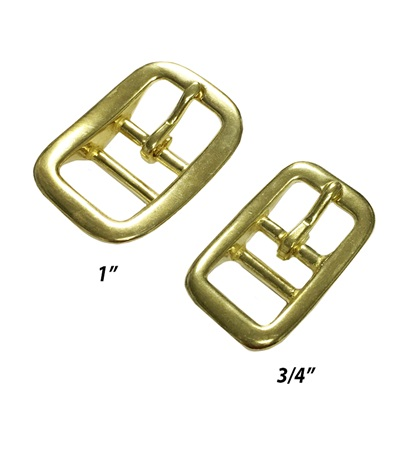 Halter Buckle Solid  Brass