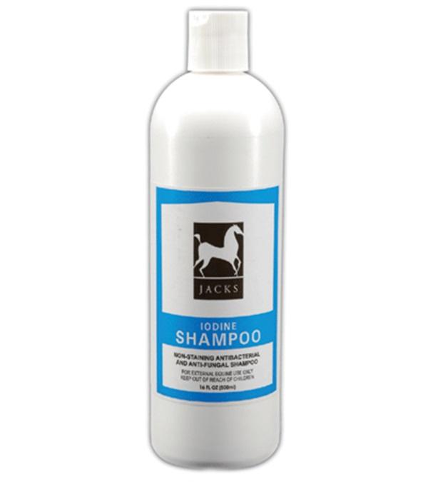 Jacks Iodine Shampoo 16 oz.