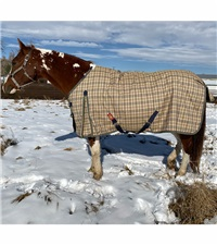 5/A Baker® Heavy Weight Turnout Blanket 400 Gram