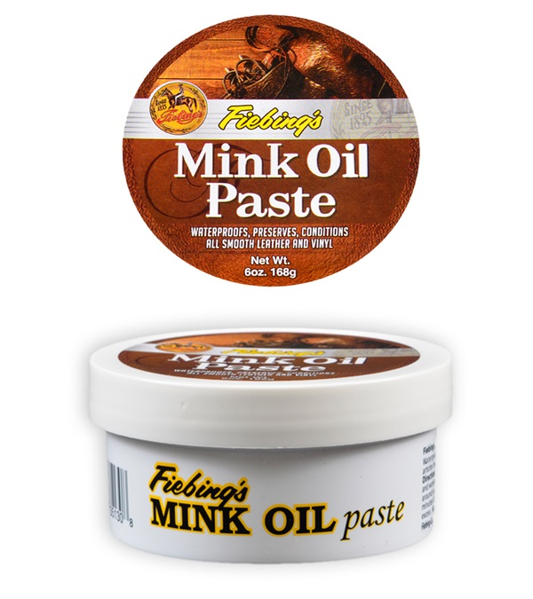 Fiebing's Mink Oil Paste 6 oz.